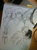 Back in the train Back in the sketchbookz by GazeUponTheSun
