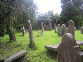 Grave yard by GrotesqueArtist