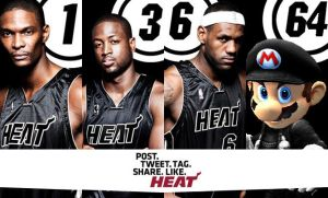 Like Heat: Big 4 in Black by FJOJR