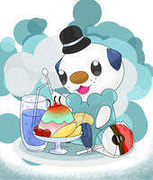 Oshawott tea time by hoyeechun