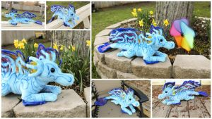 Dragonfish Dragon Plushie by BeeZee-Art