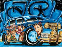 lowrider by airbrushmaster49ers