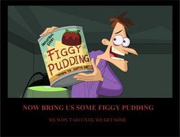 Figgy Pudding Motivational Poster by 022288knarrow