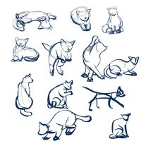 Cat Gestures by Temiree