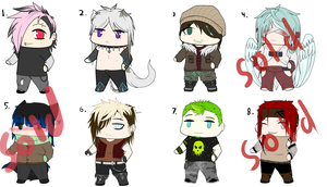 .: Adoptables -set1- OPEN :. by SapphireItrenore