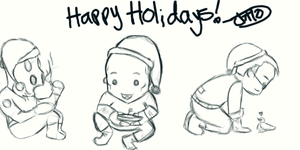Happy Holidays by jutto