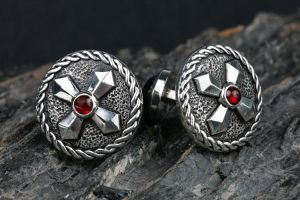 Cross Cuff Links by carpe0diem