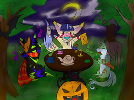 Contest entry-Happy halloween by Kitedge