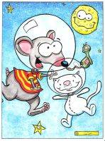 Toopy and Binoo - For my grandson's 1st Birthday!! by DredFunn