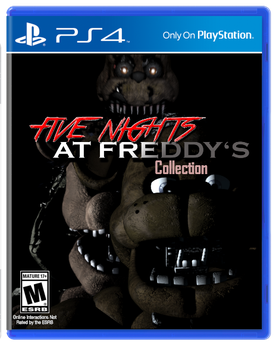 Five Nights At Freddy's Collection - PS4 by Walrusmanart