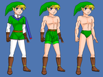 Link- W-I R RP Fantasy outfits by Dinalfos5