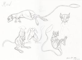 Concept Art For Mew by ITAFTRS