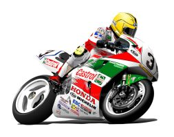 Joey Dunlop IOM Honda by RacerTees
