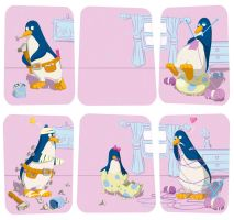 Penguin story by Arctopicto
