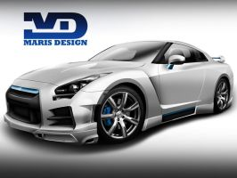 GT-R THUNDER by MarisDesign by MarisDesign