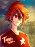 Takuto the radiance by patamy