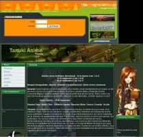 My web pages layouts by Gr4Dm4n
