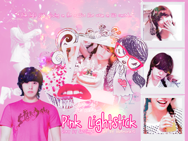 PINK LIGHTSTICK by bluembraces
