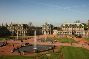 Dresden garden by geory