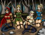 D4: dungeons, dragons, damsels, distress by geekling