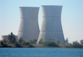 Stock: Nuclear Power Plant by Stock-By-Michelle
