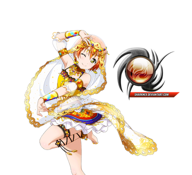 Love live - Rin cute arabia dancer render by sharknex