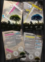 Pflaumenbaum Party Flyer by freakedOutMe