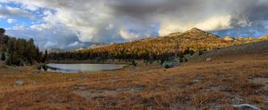 Fall Scene in High Wyoming by Halcyon1990