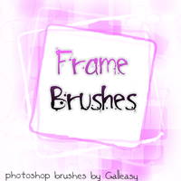 frame brushes by galleasy by Galleasy