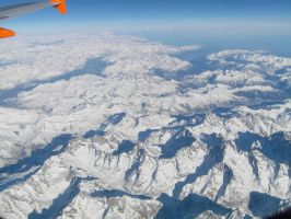 Dolomites From The Air 2 by BretWalda1X
