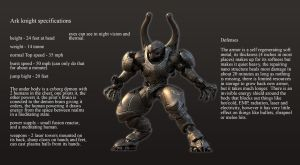 Ark knight specifications by Avitus12