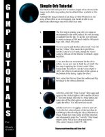 Simple Orb Tutorial by the-gimp