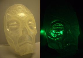 Crystal Dragon Priest Mask by Corroder666