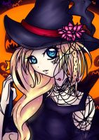 Happeh Halloween from Hanako by Violet-Eyed-Angel