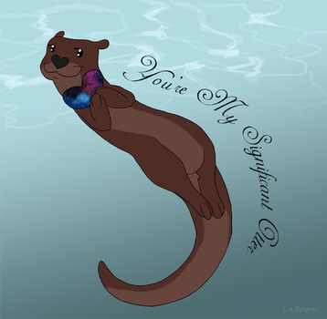 Significant Otter by RipfangDragon