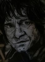 Bilbo Baggins - drawing by tofu0004