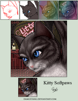 Kitty Softpaws Non-Remap Portrait Trade by damustang