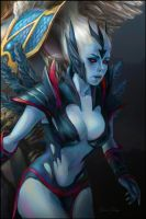 DotA 2, Skywrath Mage n' Vengeful Spirit part 1 by DariaDesign