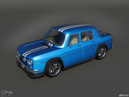 Renault 8 Gordini 1300-3 by cipriany