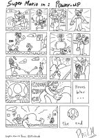 Mario Comic: Power-Up by LJPhil