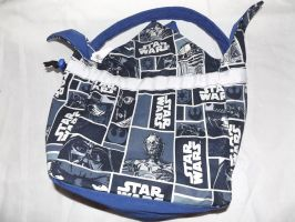 For Sale:Handcrafted Star Wars Bento Bag by CL-Pinkskull
