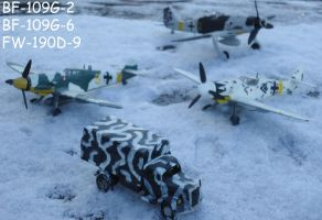 Winter German Fighters by DingoPatagonico