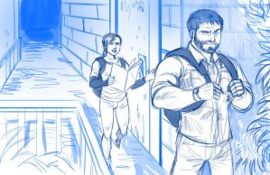 The Last of Us - Sketch by Holly-the-Laing