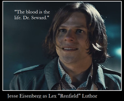 Renfield or Luthor - Spoilers by Thrythlind