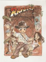 Raiders of the Lost Ark by tractorman-chan