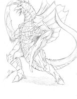 Genocide Gigan design by The-KaijuEnthusiast