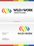 WILD@WORK - Business card by UaEight