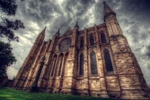 Durham Cathedral HDR by nat1874
