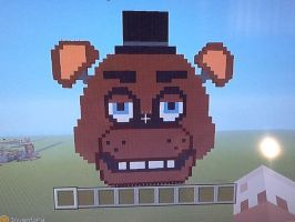 Minecraft Freddy by Miss-Mangle