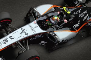 Sergio Perez - Force India by LyriquidPerfection